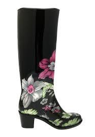 womens boots uk size 2 womens high heel wellies waterproof wellington boots