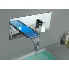 Changing Bathroom Faucet by Kokols Lsw01 Wall Mount Led Color Changing Bathroom Faucet