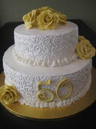 Wedding Cakes 50th Anniversary Wedding Bell Cake Toppers The