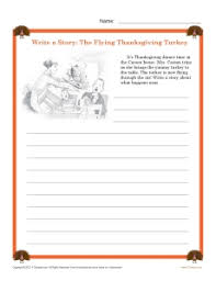 write a thanksgiving story reading worksheets spelling grammar