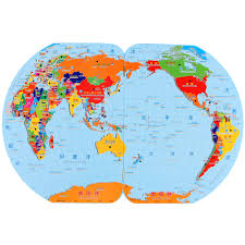 World Map With Flags Early Childhood Children U0027s Flag World Map Puzzle Board