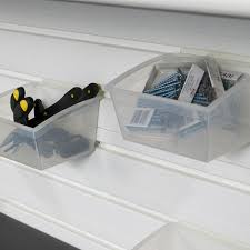 Fbs Floor Box by Small Hard Bins 5pk Clear By Flowwall
