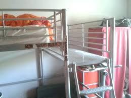 lit mezzanine avec canapé convertible fixé lit mezzanine avec canape convertible alinea lit mezzanine avec