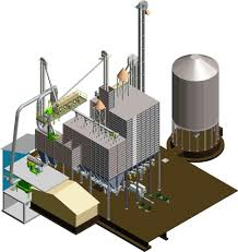 factory layout design autocad 3d design layout engineering of grain feed seed