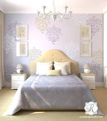 wall stencils for bedroom stencil ideas for bedroom bedroom wall stencil ideas hummingbirds 3