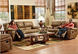 Find Living Room Furniture Shop For A Cindy Crawford Home Alpen Ridge 3 Pc Living Room At