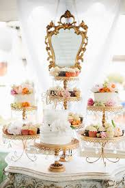wedding cake plates opulent treasures chandelier cake stands a stunning combination