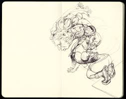 sketchbooks u2014 berdugo