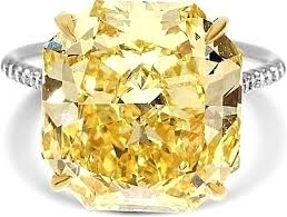fancy yellow diamond engagement rings 10 16ct radiant cut fancy yellow diamond engagement