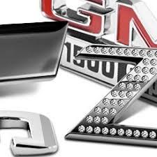 chrome emblems logos letters numbers u0026 more u2013 carid com