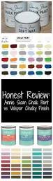 honest review u2013 valspar chalky finish vs annie sloan chalk paint