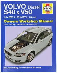 volvo s40 u0026 v50 diesel 07 13 haynes repair manual haynes