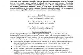 Sample Speech Pathologist Resume by Speech Language Pathologist Resume Example Speech Pathology