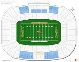 spectrum stadium ucf seating guide rateyourseats com