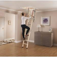 wooden loft ladder ebay