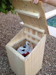 Diy Propane Firepit Backyard Propane Pit Pavers And Outhouse Project
