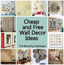 cheap kitchen wall decor ideas wonderfull design inexpensive wall decor decorating ideas cheap on