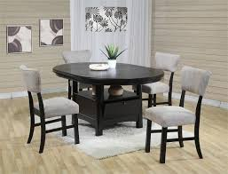 counter height dining table with storage coaster mix match counter height dining table with storage for