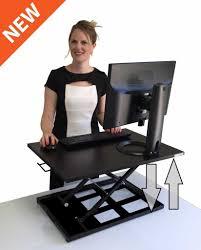 desks monitor arms desk mount standing computer desks
