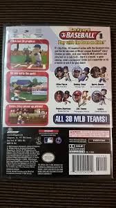 backyard baseball missing manual nintendo gamecube wii