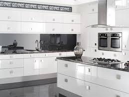 Glossy White Kitchen Cabinets High Gloss White Paint For Kitchen Cabinets Kitchen