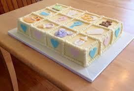 baby shower cake gâteau de ville