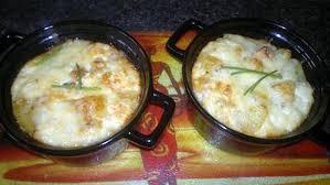 cuisiner le boudin blanc recette de gratin de boudin blanc au chaource et moutarde à l ancienne