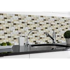 gel tile backsplash smart tiles muretto prairies 10 25 in x 9 125 in mosaic