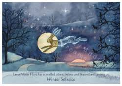 moon hare at winter solstice astrocal