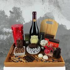 christmas wine gift baskets christmas gift baskets