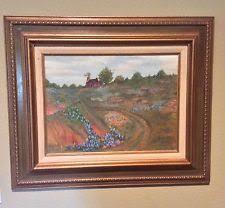 bluebonnet painting ebay