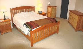 bed cherry queen slat arch top maple set boulder furniture arts