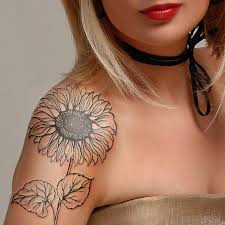 best 25 colorful sunflower tattoo ideas on pinterest first