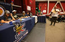 College National Letter Of Intent Inland High School Athletes Sign College National Letters Of