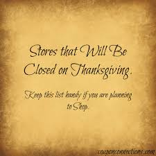 are you planning to shop on thanksgiving just a heads up that these