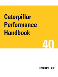 40th caterpillar performance handbook