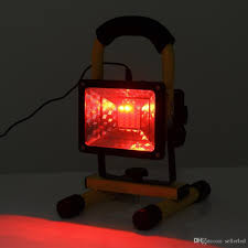 red led flood light portable led floodlight 30w ac110 240v flood light rechargeable red