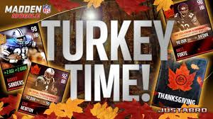 thanksgiving promo madden mobile 16 ultimate feast