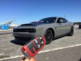 Weight Of A Dodge Challenger 2018 Dodge Challenger Srt Demon A New Muscle Car Era Automotive