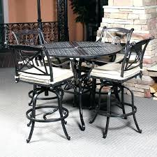 patio bar height dining set patio bar table and chairs webdirectory11