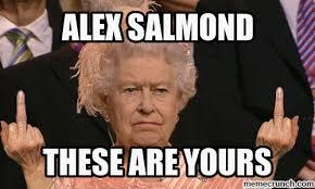 Alex Salmond Meme - alex salmond is a cunt