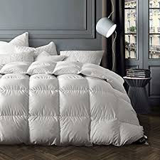 Can I Bleach A Down Comforter Amazon Com Snowman Bedding King Size Goose Down Comforter Baffle