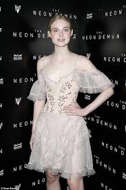 elle fanning channels a ballerina for neon demon u0027s after party at