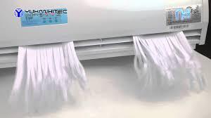 air curtain air conditioner ion plasma clean by yuhanhitec