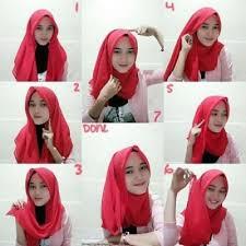 tutorial hijab resmi model hijab paris segiempat hijab jaman now