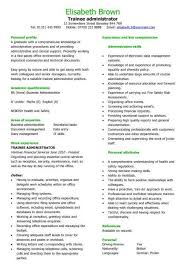 Entry Level Business Administration Resume Graduate Cv Template Student Jobs Graduate Jobs Career