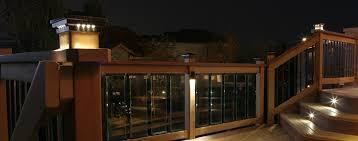unique ideas post lights for decks led deck lighting crafts home