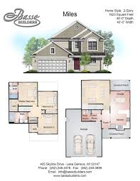 Square Miles To Square Feet Floor Plans Basso Builders
