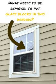 replace glass in window best 25 glass block windows ideas on pinterest glass block