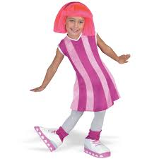 nickelodeon halloween costume party lazytown nickelodeon nick jr stephanie deluxe child costume